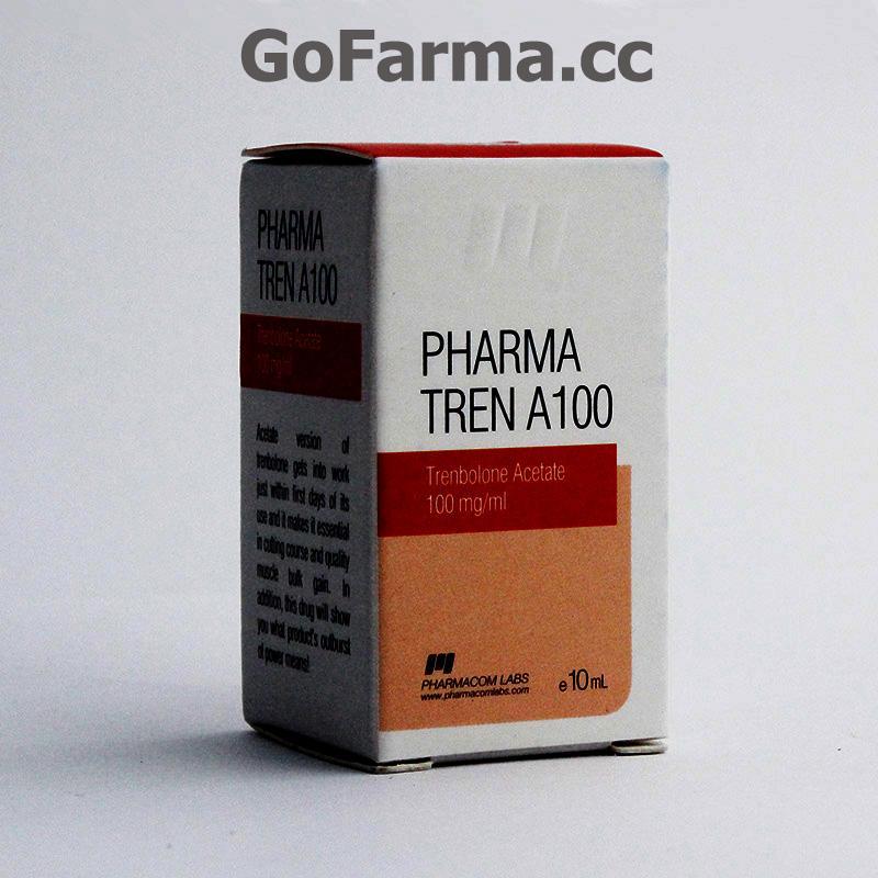 PHARMA TREN (пфарма трен) A100, 100MG/ML купить в России