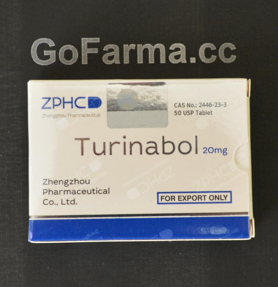 Turinabol (туринабол) 20mg/tab - цена за 50 таблеток. купить в России
