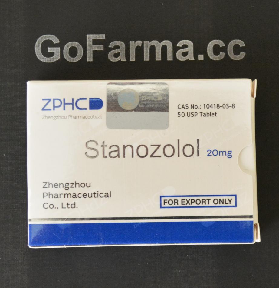 Stanozolol (станозолол) 20mg/tab - цена за 50 таблеток. купить в России