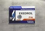 EXEDROL (экседрол) 25MG/TAB - ЦЕНА ЗА 20 ТАБЛЕТОК. купить в России